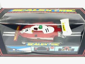Vintage Ferrari 312 T2 F1 Scalextric Slot Car, Scalextric C136 Niki Lauda Car