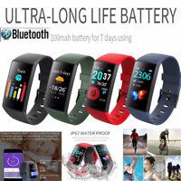 CY11 Watch Waterproof Smart Bracelet Heart Rate Blood Pressure Monitor Watch