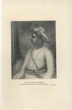 1900 Tipu Sahib, The Sultan Of Mysore