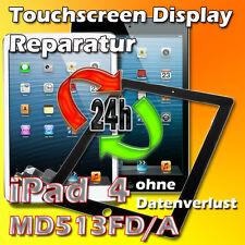 24 Stunden iPad 4 Display Touchscreen Reparatur Frontglas Scheibe Reparatur Weiß