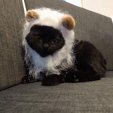 Cat Lion Mane Cute Hat Costume - 5 Colors - Dual Ear Headgear Cosplay