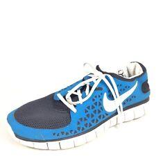 Nike Free Run Mens Size 13 Blue/Black/White Running Sneakers.