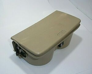 1994 1995 95 94 Honda Accord Center Console Cup Holder Beige OEM Cupholder