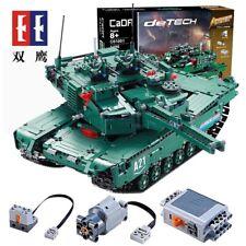 Blocks Toys 2.4Ghz RC Technic PF Tank Model Army