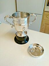 1980's Silver Plated Dunhill Golf Club Secretaries Competition Trophy (3060)