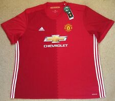 b852f535c Authentic adidas 4xl Mens Manchester United EPL Soccer Jersey