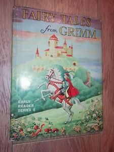 FAIRY TALES FROM GRIMM * EARLY READER SERIES 6 ( 1960 ) DUSTJACKET VINTAGE