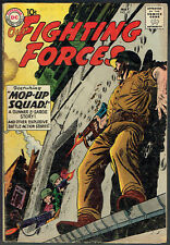 OUR FIGHTING FORCES  45  VG-/3.5  -  1st appearance of Gunner and Sarge!