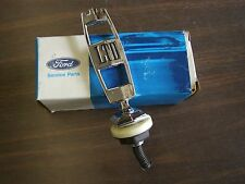 NOS OEM Ford 1975 LTD Hood Ornament Emblem Header Panel 1976 1977 Galaxie