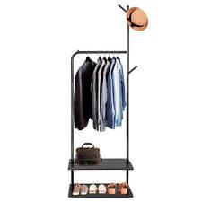 Ropa perchero guardarropa stand ropa estante almacenamiento 175cm