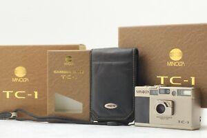[N Mint in Box] Minolta TC-1 Point & Shoot 35mm Film Camera 28mm F3.5 from Japan