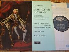 ZRG 5369 Handel Coronation Anthems / Willcocks / King's OVAL