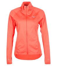 NIKE Shield Women's Running Jacket - X-LARGE (Orange) 686877-842