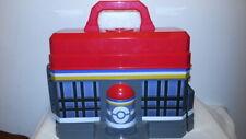 Tomy POKEMON PLAY CENTER STORAGE CASE 2013 Nintendo Playset gym pokestop