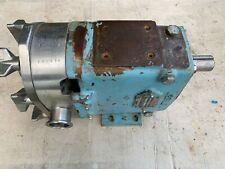 Waukesha Cherry Burrell Pump Model 030 Positive Displacement Pump 1 12 Sanitary