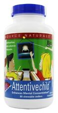 Source Naturals - Attentive Child Sweet & Tart - 60 Chewable Wafers