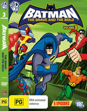 Batman the Brave and the Bold: Volume 3 (Animated) * NEW DVD *