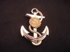 Old Vtg Collectible Seaport Mystic Conn, CT Maritime Anchor Pin