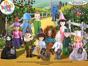 2008 MADAME ALEXANDER THE WIZARD OF OZ HAPPY MEAL TOYS - U PICK