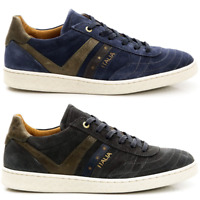 Scarpe Sneakers Pelle Uomo Pantofola d'Oro Shoes Men Bari Suede Leather 10183044