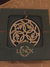 Lenox 12 Days Of Christmas Ornament Five 5 Golden Rings Box