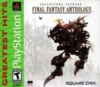 Final Fantasy Anthology [Sony PlayStation 1 PS1 Square Enix RPG FF5 FF6] NEW