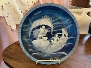"""The Sirens Allan Brunettin """" Voyage Of Ulysses"""" Collector's 3D Cameo Plate"""