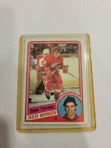 1984-85 Topps Steve Yzerman #49 Rookie Card RC HOF