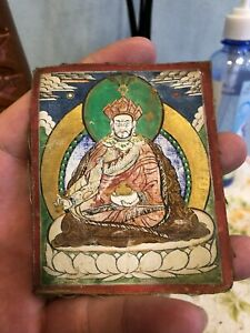 Mongolian ANTIQUE Buddhist OLD thangka 18-19cen
