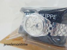 Patek Philippe White Gold Perpetual Calendar Bracelet 5136 5136G Box & Papers