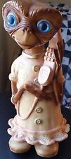 """E.T. Extra Terrestrial One-Of-A-Kind 12"""" Ceramic Coin Bank 80s Vintage BEAUTIFUL"""
