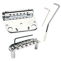Exquisite 6 String Guitar Tremolo Bridge Set for Jazzmaster Accessories