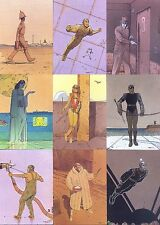 MOEBIUS COLLECTOR CARDS 1992 COMIC IMAGES COMPLETE BASE CARD SET OF 90 FA
