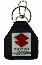 Suzuki, Boulevard, M109, C109, Red S, Rectangle, Quality Leather Keyring