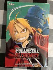Fullmetal Alchemist (3-in-1 Edition), Vol. 1 by Hiromu Arakawa (2011, Paperback)