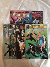 Lot of 6 Animal Man (1988) #1 2 6 9 11 15 VF Very Fine