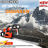 "COOCHEER 20"" Guide Board Chainsaw Gasoline Power Handheld Chain Saw 58CC Engine"