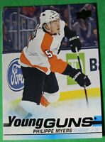 2019-20 UPPER DECK Serie 1, #221  Philipe Myers , Young GUNS, Flyers