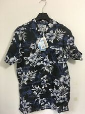 Duke London Hawaiian Short Sleeve Shirt Size Medium