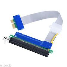 USB PCI-E exprimer 1x pour 16 x EXTENDEUR CARTE élévatrice adaptateur SATA