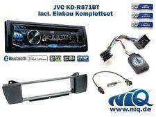 BMW Z4 Autoradio Einbauset *Anthrazit* inkl. JVC KD-R871BT und Lenkrad ...