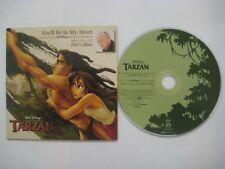 PHIL COLLINS You'll be in my heart 2-track CDS Card sleeve * Walt Disney Tarzan