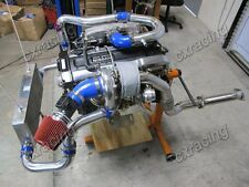 GT35 Single Turbo Downpipe Manifold Kit For 240SX S13 S14 RB20 RB25 500HP