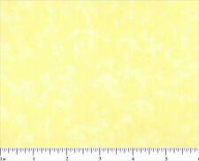 By the Yard Cotton Quilt Fabric 44/45'' BLENDER 0501 Light Yellow MOTTLED Tonal