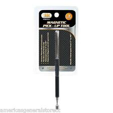"""3 lb. MAGNET PICKUP TOOL magnetic pick up handle telescopes to 26"""" pencil clip"""
