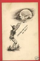 ELF MOON COBB SHINN ARTIST SIGNED SCOFIELD '09 POSTCARD