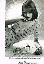 PUBLICITE  1974    JEAN DESSES   parfum haute couture