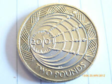 RARE £2 COIN TWO POUNDS MARCONI 2001 IN EX CONDITION ++++++++++