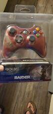 Xbox 360 Limited Edition TOMB RAIDER Wireless Controller Read Description
