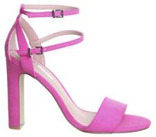 37 Scarpe da donna cinturini, cinturini alla caviglia in rosa